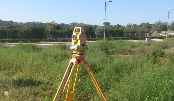 medición de campos valencianos