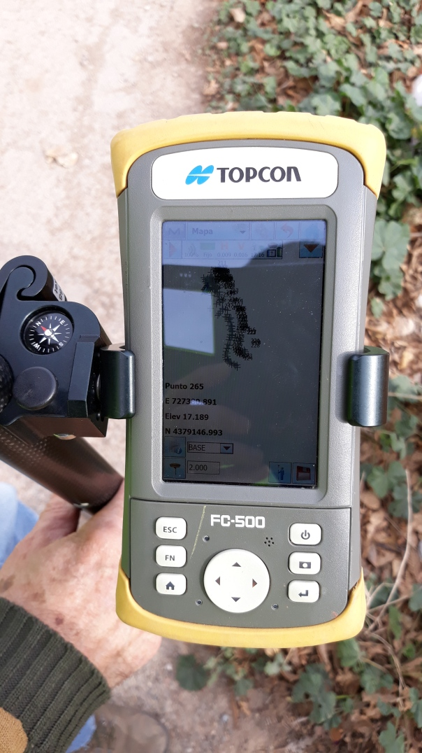 GPS y topografia en Denia